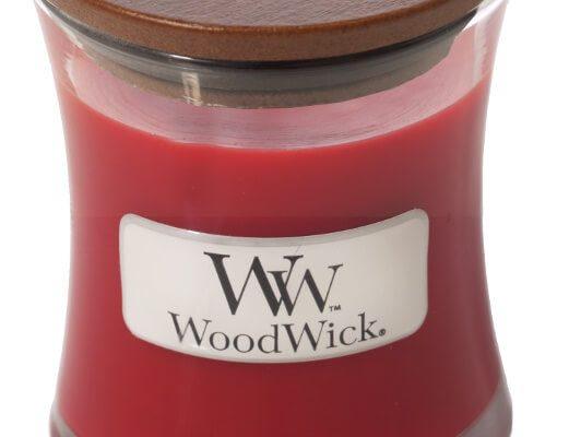 Woodwick Pomegranate kaars klein   98194E   Woodwick