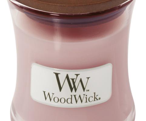 Woodwick Rosewood Mini kaars | 98025E | Woodwick