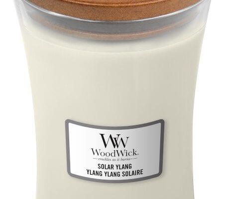 Woodwick Solar Ylang kaars groot | 1647925E | Woodwick