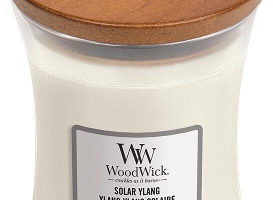 Woodwick Solar Ylang kaars medium | 1647919E | Woodwick