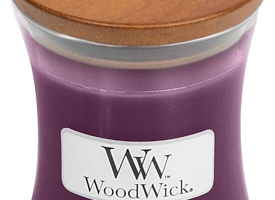 Woodwick Spiced Blackberry kaars klein | 98078E | Woodwick