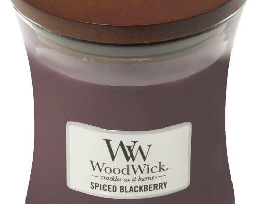 Woodwick Spiced Blackberry medium | 92078E | Woodwick