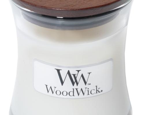 Woodwick White Tea & Jasmine mini kaars | 98062E | Woodwick