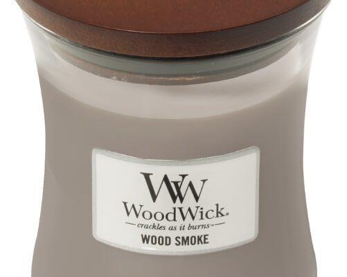 Woodwick Wood Smoke kaars medium | 92075E | Woodwick
