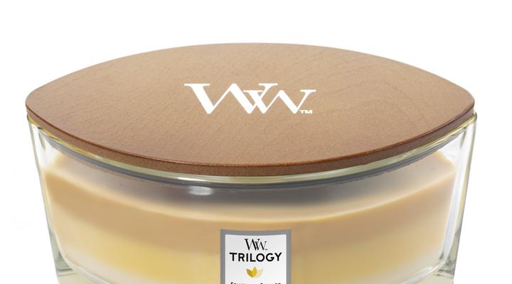 Woodwick ellipse Trilogy fruits of summer   76958E   Woodwick