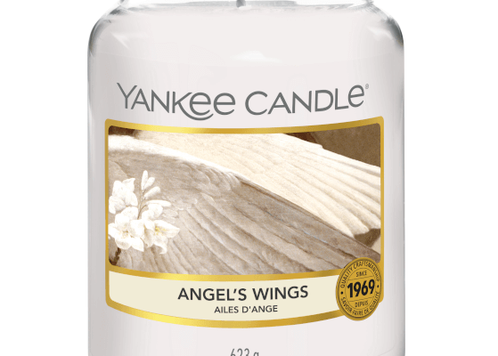 Yankee Candle Angel's Wings large geurkaars   1306395E   Yankee Candle