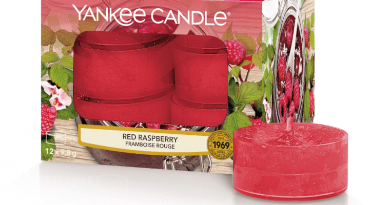 Yankee Candle Red Raspberry waxinelichtjes   1323193E   Yankee Candle