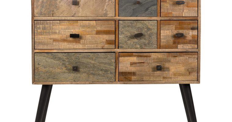 ZILT Ladenkast 'Vinny' met 8 laden | 8718548030657