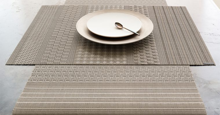 chilewich Placemat MIXED WEAVE LUXE